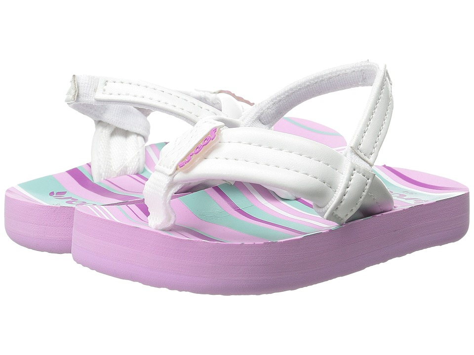 Reef Kids - Little Ahi (Toddler/Little Kid/Big Kid) (Purple Multi) Girls Shoes
