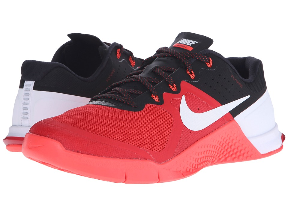 Nike - Metcon 2 (Gym Red/Black/Bright Crimson/White) Men's Cross Training Shoes