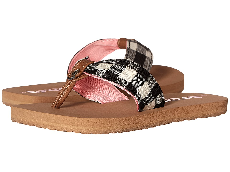 Reef Kids - Little Reef Scrunch TX (Infant/Toddler/Little Kid/Big Kid) (Plaid) Girls Shoes
