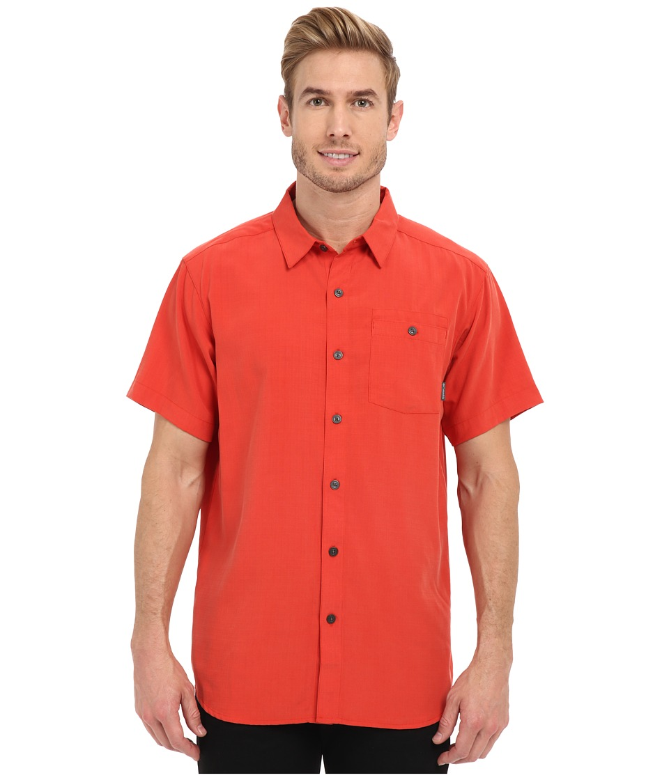 Columbia - Mossy Trail S/S Shirt (Super Sonic Slub) Men's Short Sleeve Button Up