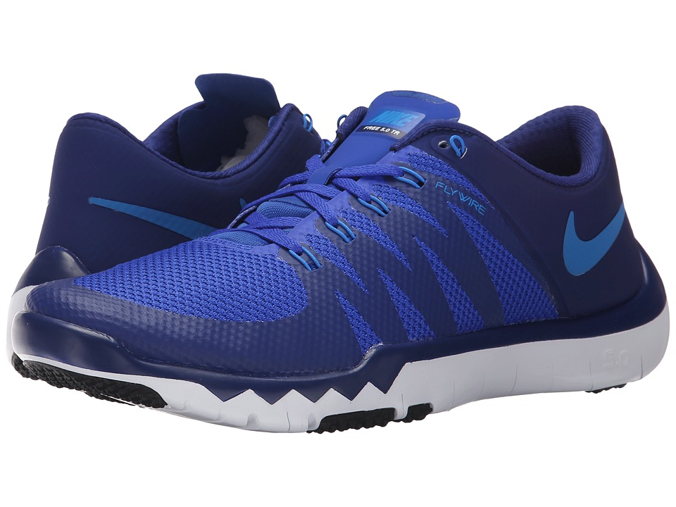 Nike - Free Trainer 5.0 V6 (Deep Royal Blue/Racer Blue/Black/Photo Blue) Men's Cross Training Shoes
