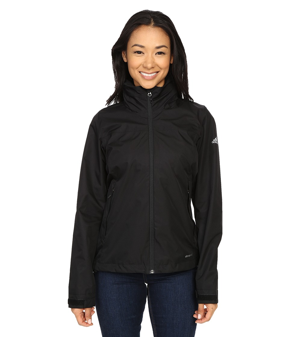 adidas Outdoor - All Outdoor 2L Wandertag Solid Jacket (Black) Women's Coat