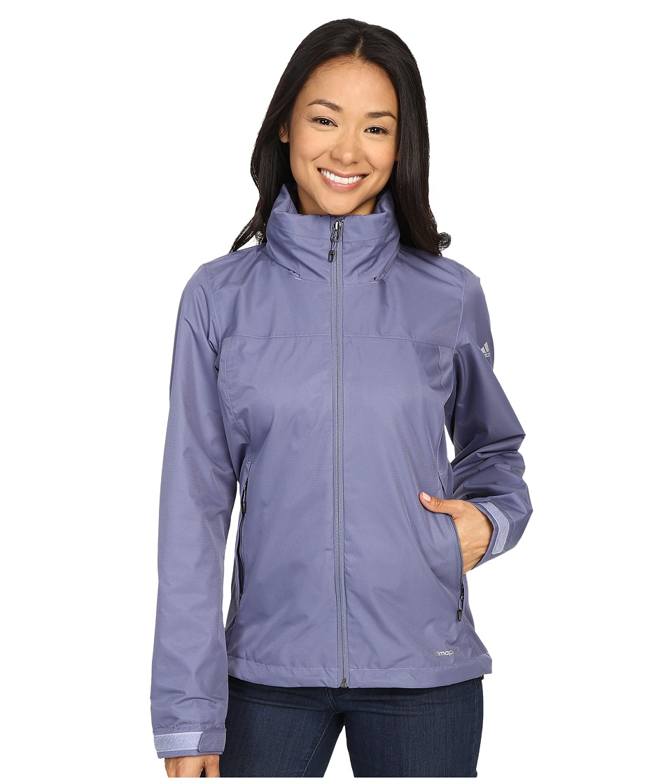 Image of adidas Outdoor - All Outdoor 2L Wandertag Solid Jacket (Super Purple) Women's Coat