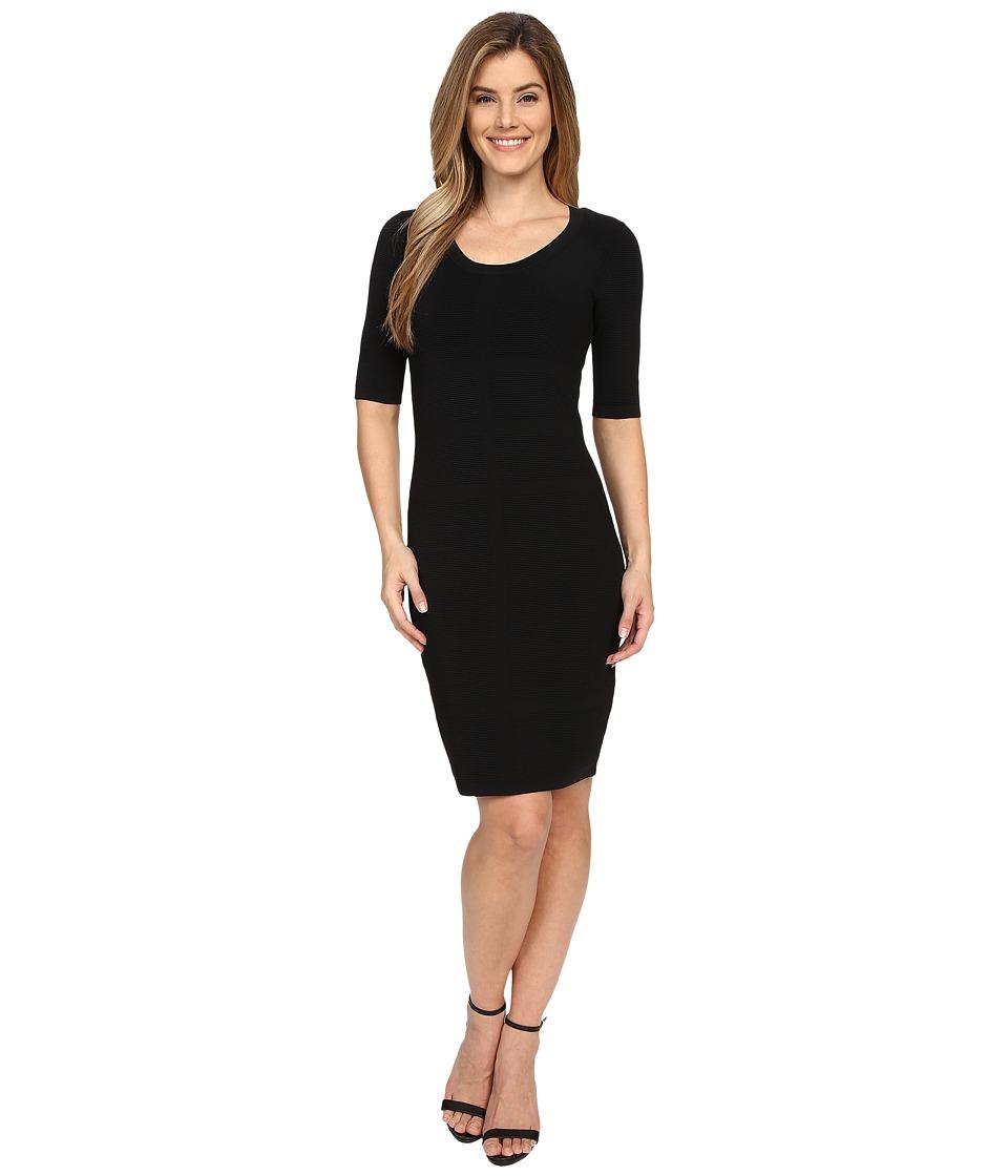NYDJ - Malia Sweater Dress (Black) Women's Dress