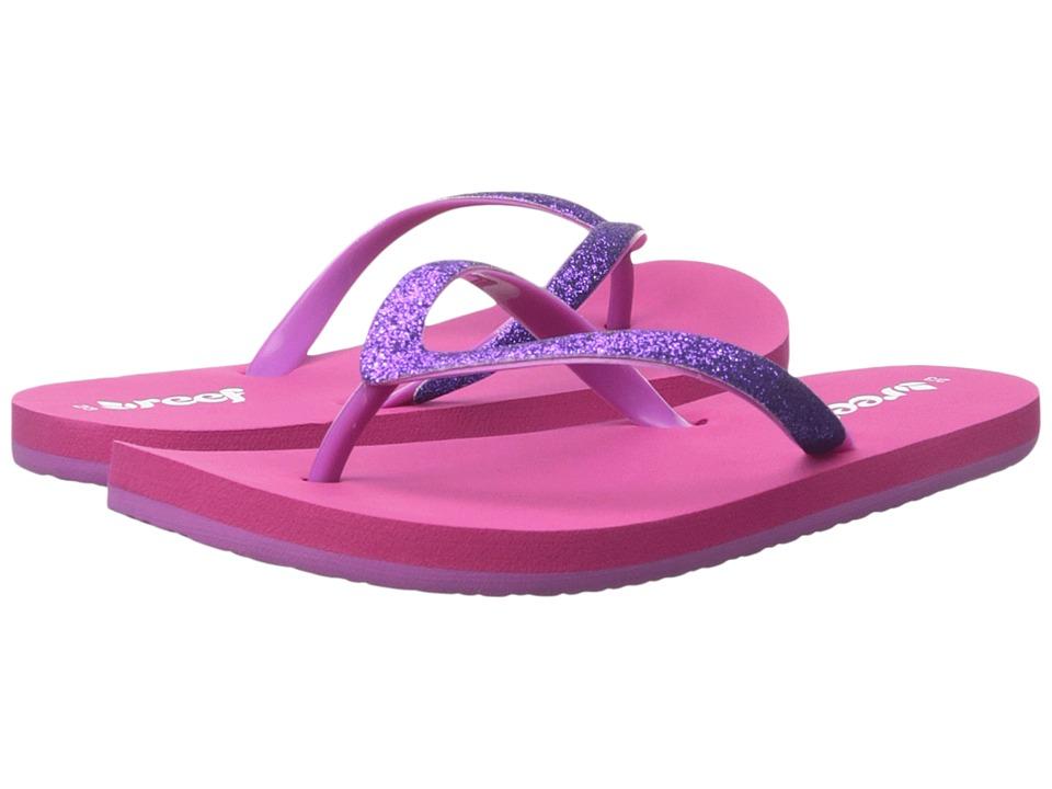 Reef Kids Little Stargazer (Infant/Toddler/Little Kid/Big Kid) (Pink/Purple) Girls Shoes
