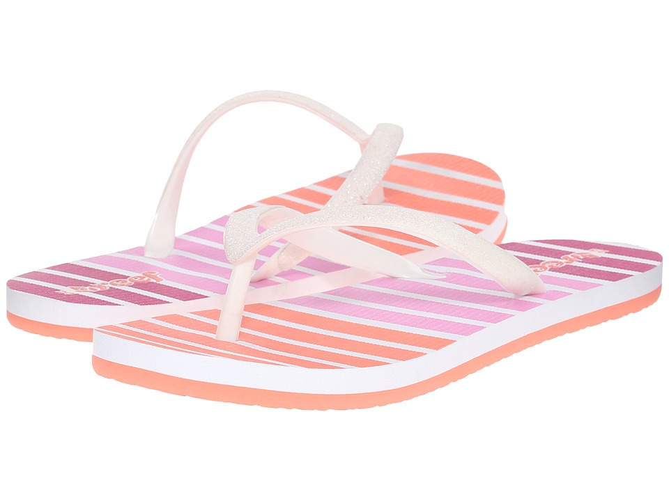 Reef Kids - Little Stargazer Prints (Infant/Toddler/Little Kid/Big Kid) (Coral Stripe) Girls Shoes
