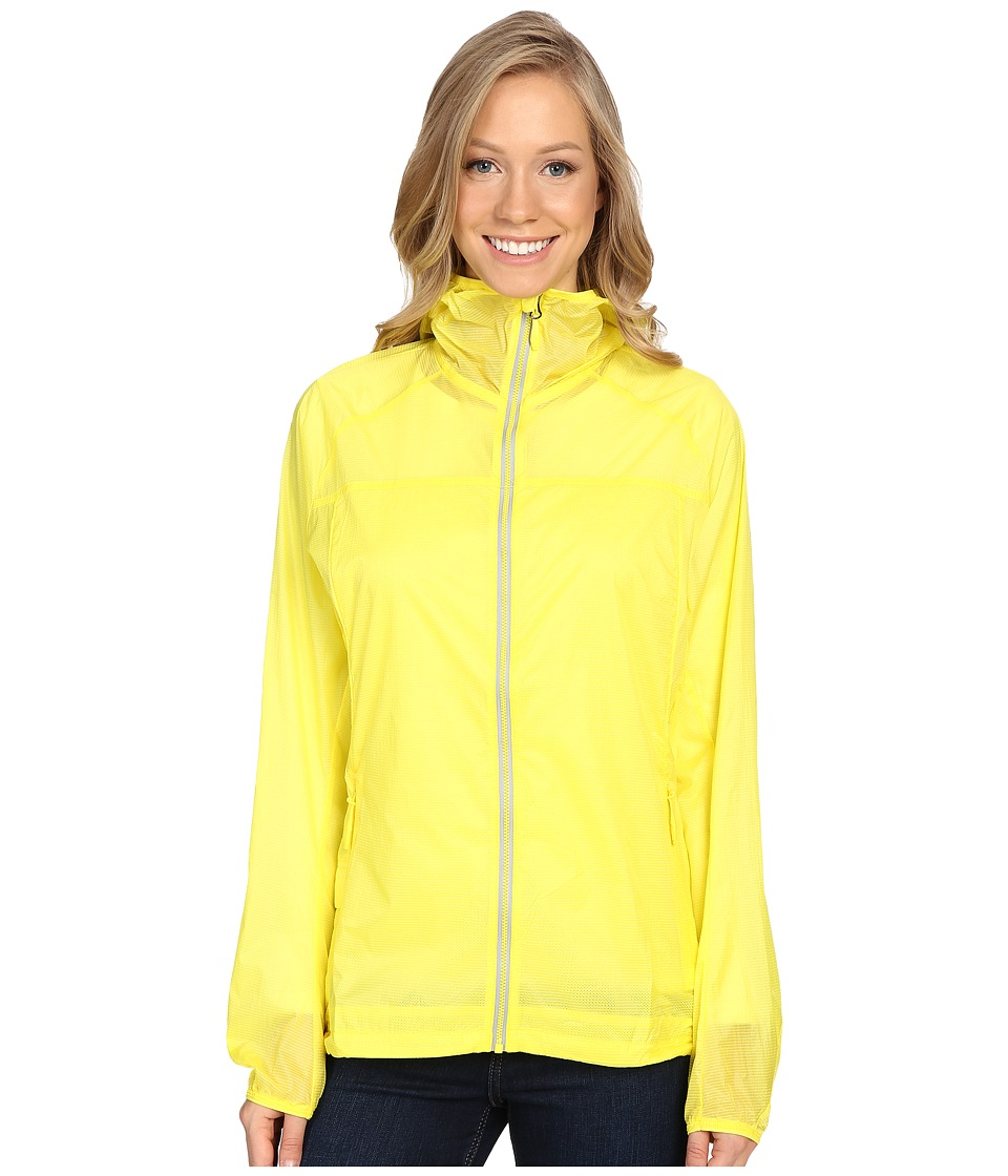 adidas Outdoor - All Outdoor Mistral Wind Jacket (Bright Yellow) Women's Coat