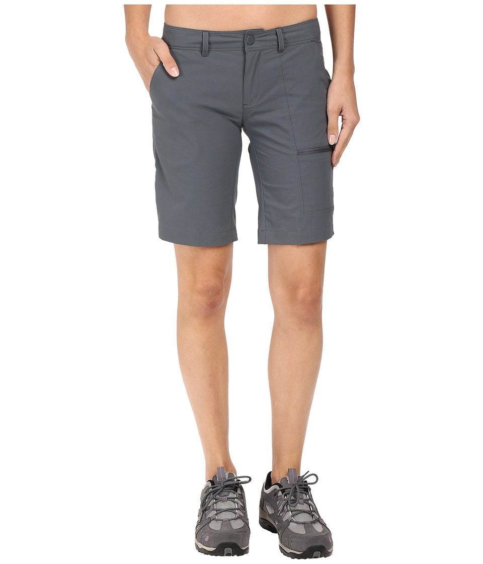 Mountain Hardwear - Metropass Bermuda Shorts (Graphite) Women's Shorts plus size,  plus size fashion plus size appare
