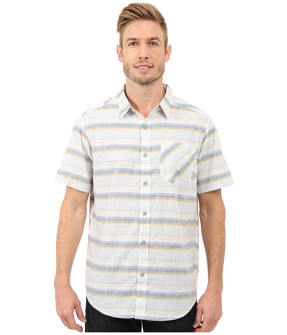 Columbia - Katchor II S/S Shirt (Dijon Stripe) Men's Clothing