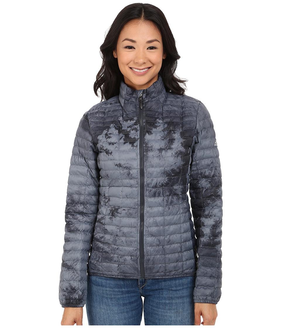 adidas Outdoor - All Outdoor Flyloft Jacket (Dark Grey) Women's Coat