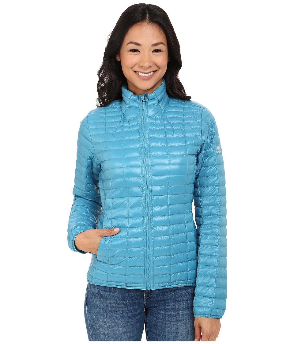 adidas Outdoor - All Outdoor Flyloft Jacket (Blanch Sea) Women's Coat