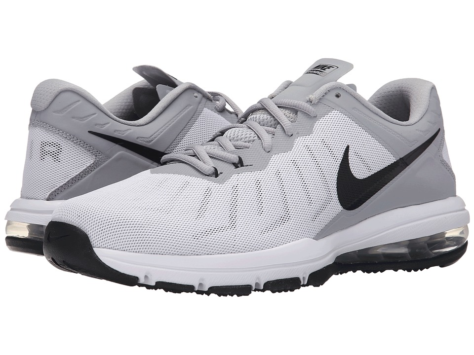 Nike - Air Max Full Ride TR (White/Wolf Grey/Metallic Silver/Black) Men's Cross Training Shoes