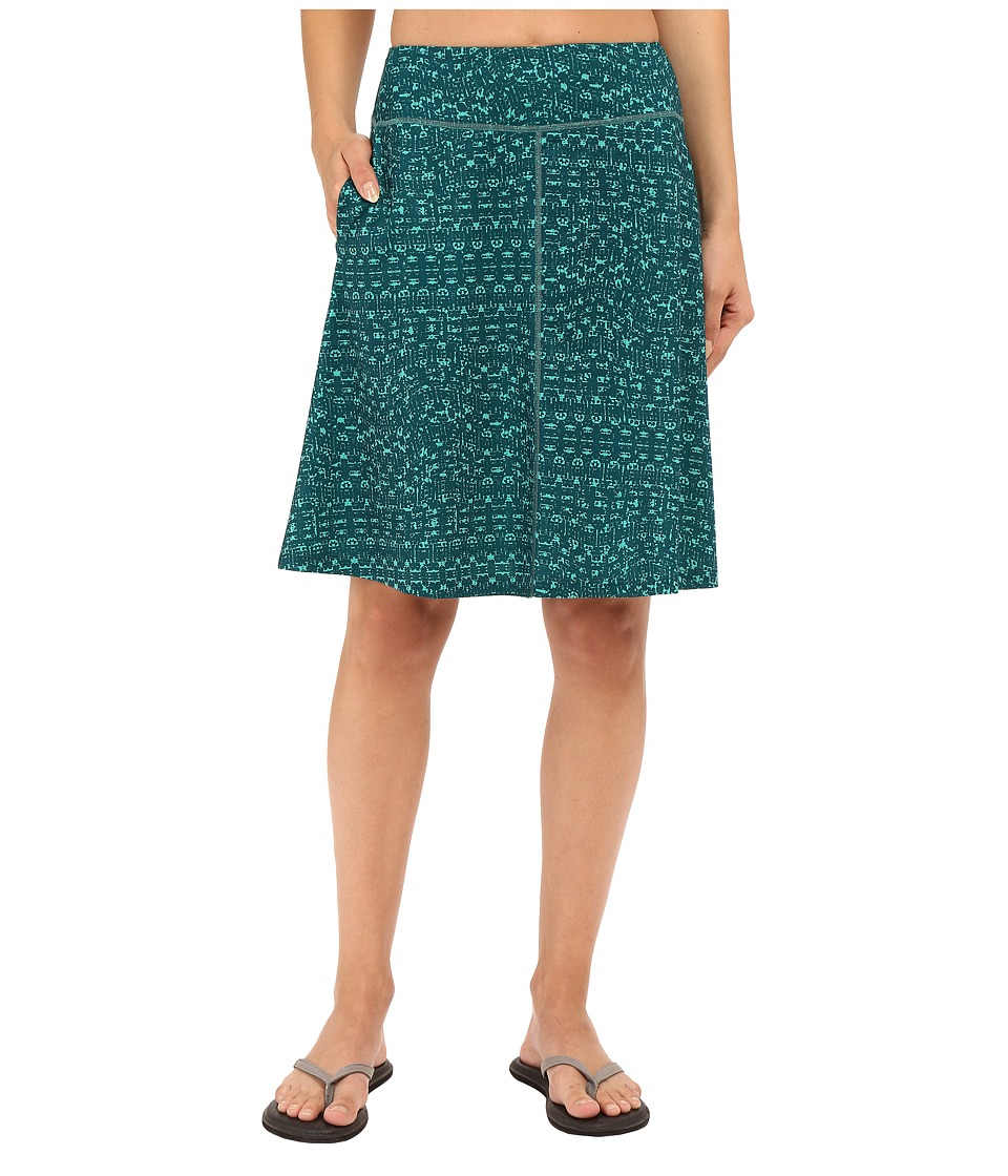 Mountain Hardwear - DrySpun Perfect Printed Skirt (River Rock Green) Women's Skirt
