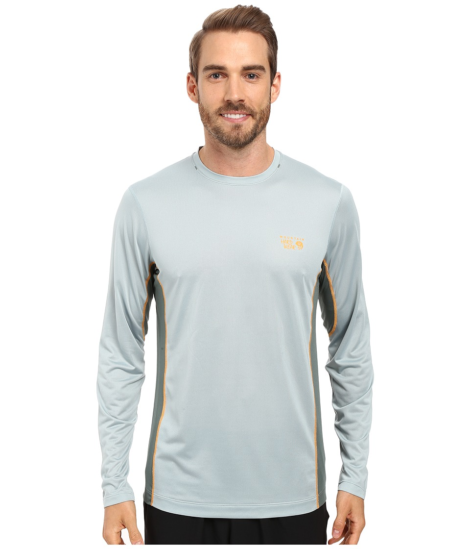 Mountain Hardwear - Wicked Lite L/S Tee (Ice Shadow) Men's Long Sleeve Pullover