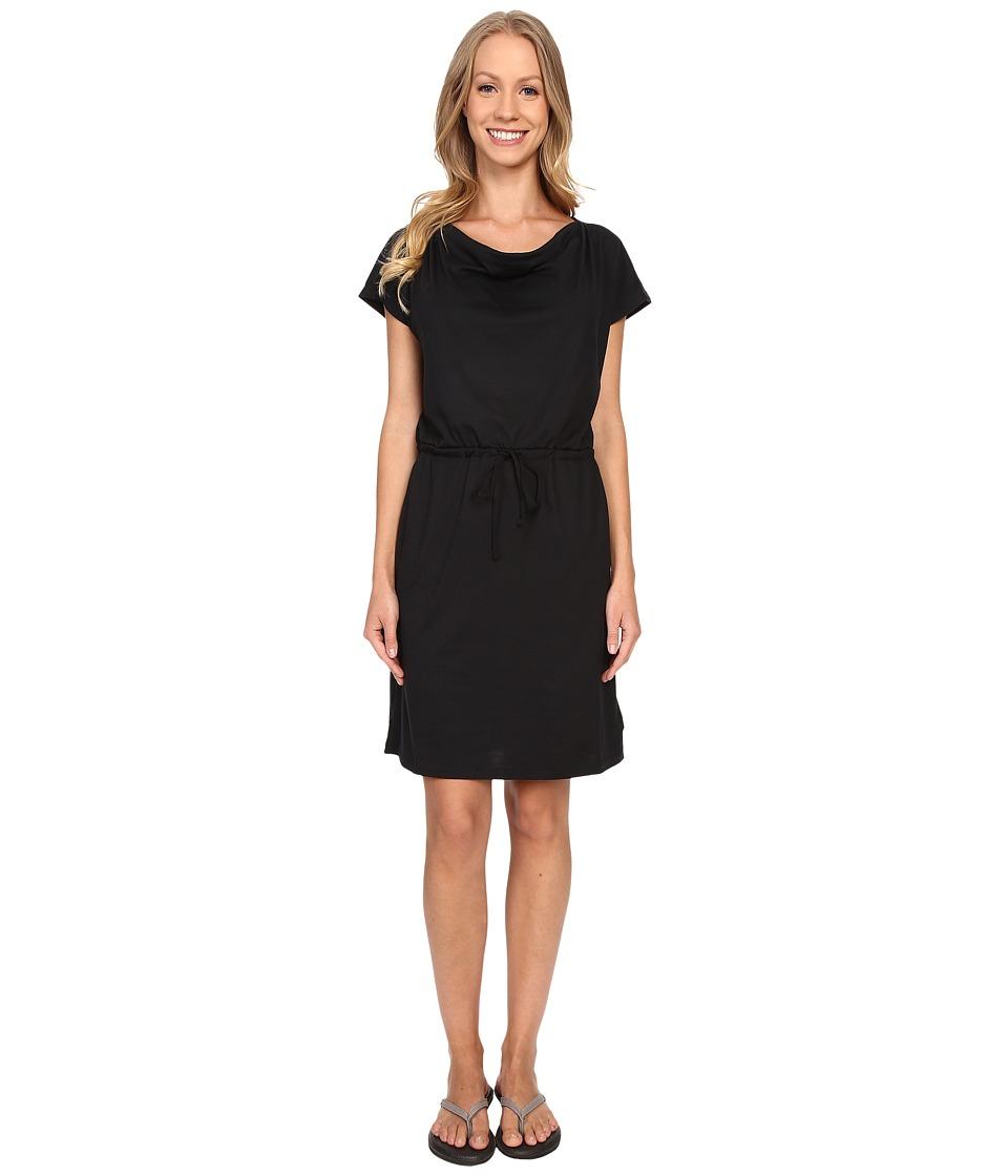 Mountain Hardwear - DrySpun Perfect Tee Dress (Black) Women's Dress