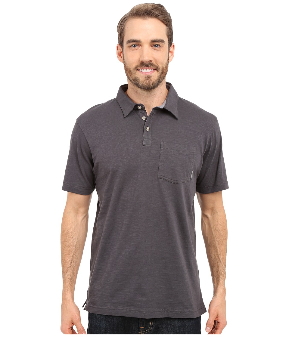 Columbia - Lookout Point Polo (Shark) Men's Short Sleeve Pullover