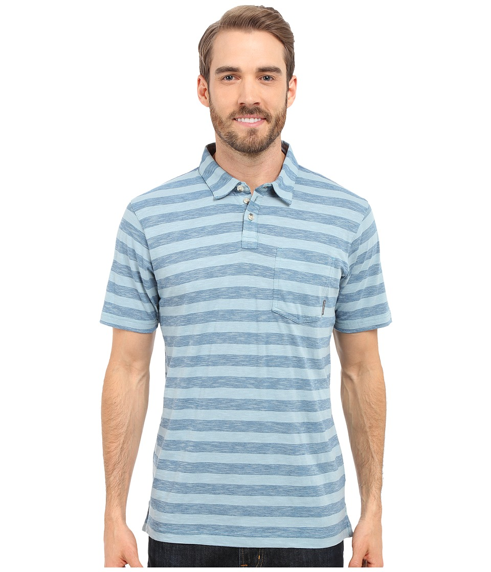 Columbia - Lookout Point Polo (Shasta Stripe) Men's Short Sleeve Pullover