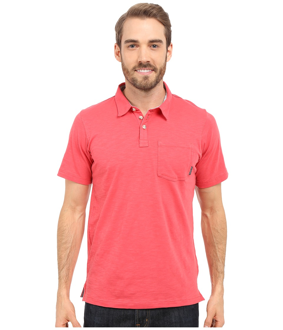 Columbia - Lookout Point Polo (Sunset Red) Men's Short Sleeve Pullover