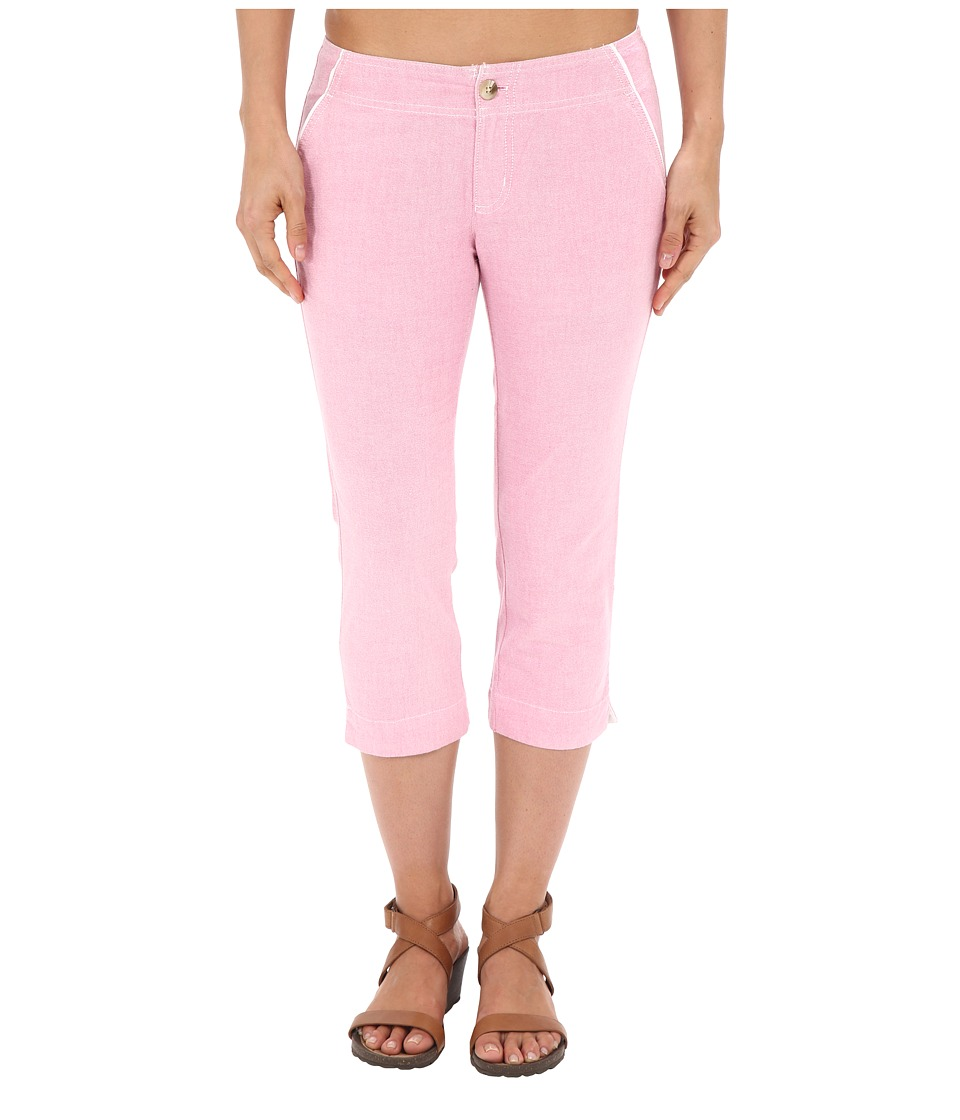 Columbia - Solar Fadetm Capri Pants (Haute Pink) Women's Capri plus size,  plus size fashion plus size appare
