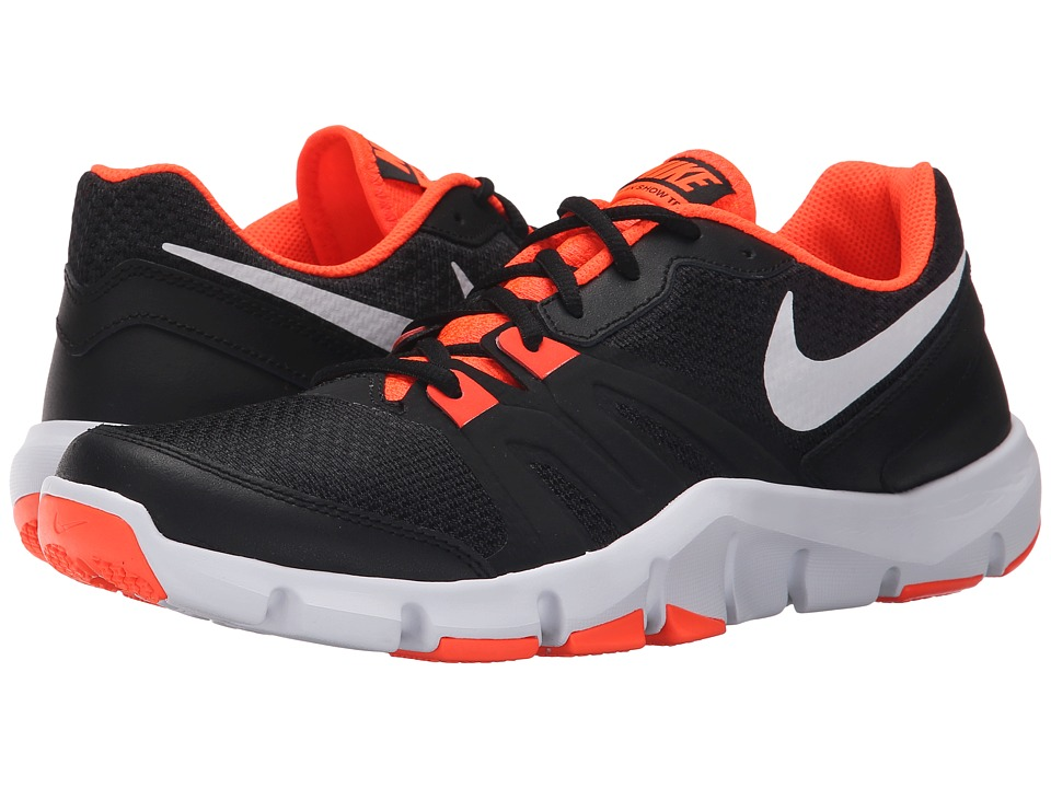 Nike - Flex Show TR 4 (Black/Total Crimson/White) Men's Cross Training Shoes
