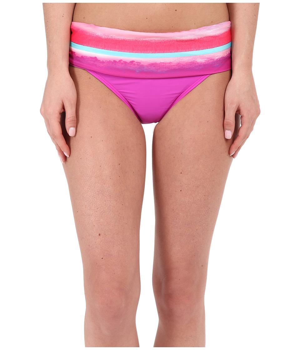 Athena Bermuda Sunrise Banded Pant (Multi) Women