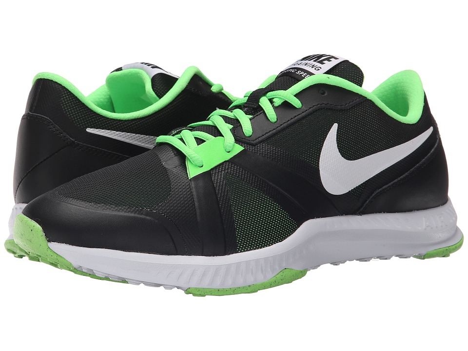 Nike - Air Epic Speed TR (Black/Voltage Green/White) Men's Cross Training Shoes