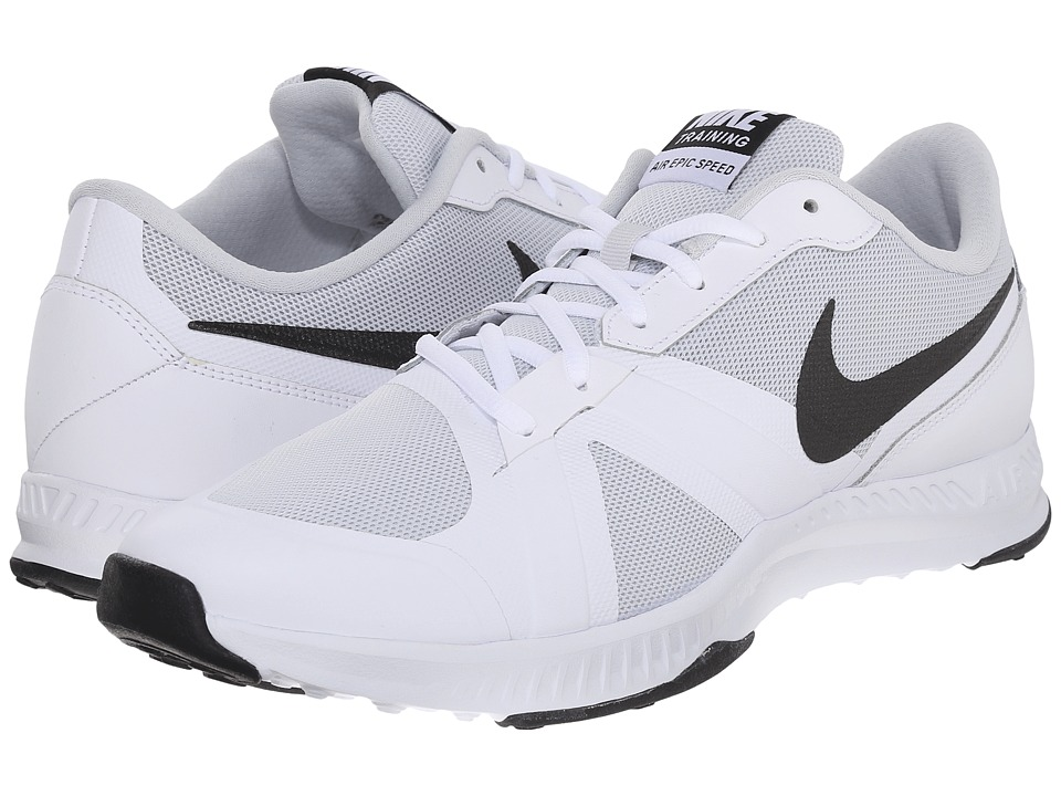 Nike - Air Epic Speed TR (White/Pure Platinum/Black) Men's Cross Training Shoes