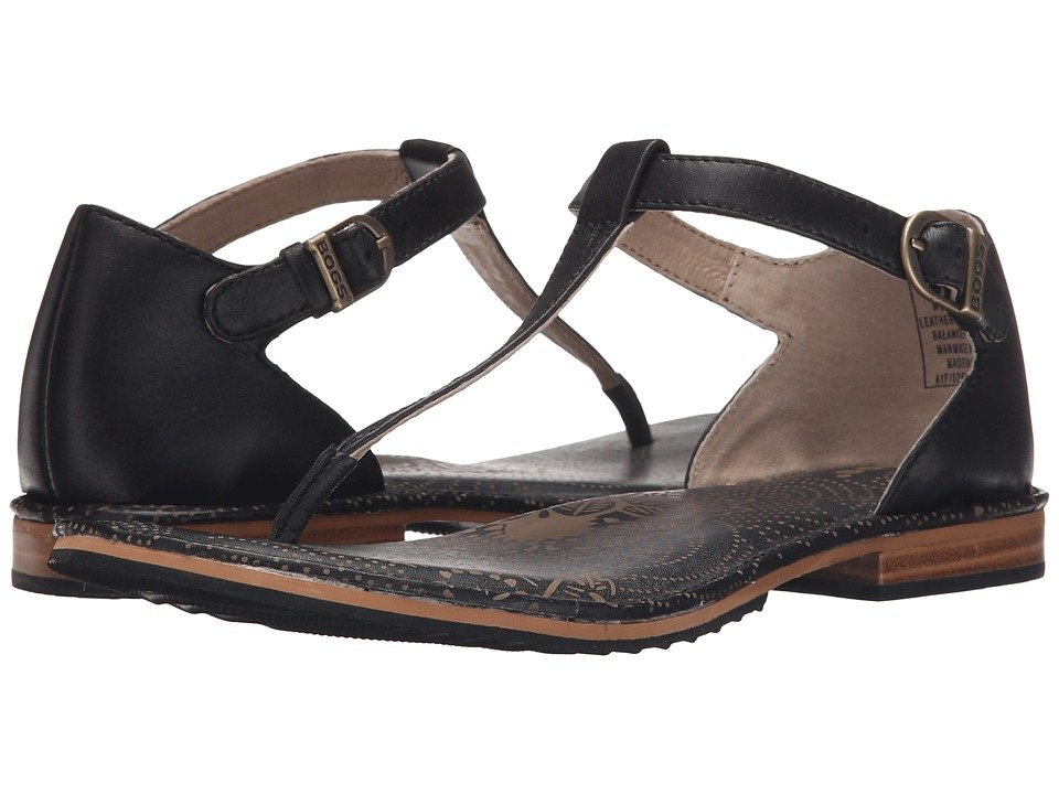 Bogs - Memphis Thong Sandal (Black) Women's Sandals