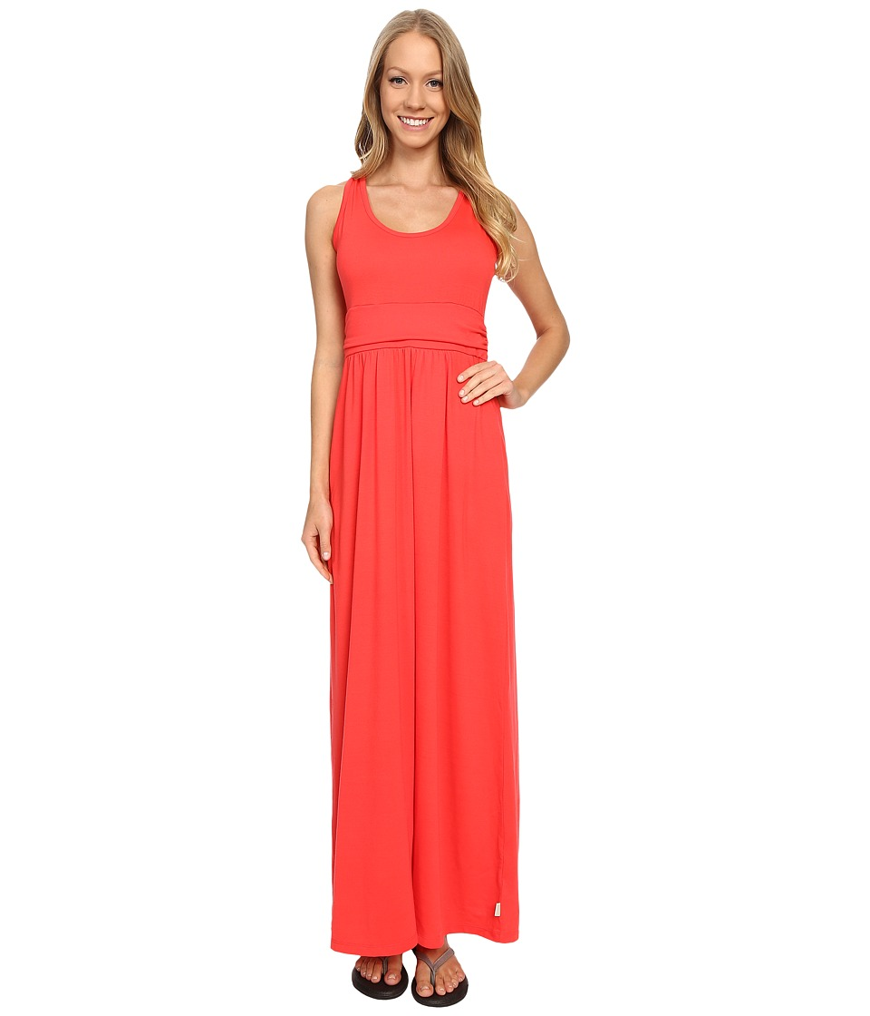 Mountain Hardwear - DrySpun Perfect Solid Maxi (Red Hibiscus) Women's Dress