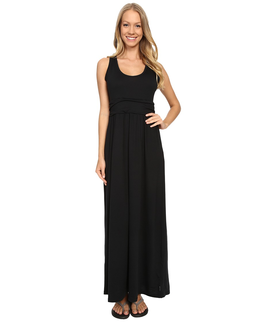 Mountain Hardwear - DrySpun Perfect Solid Maxi (Black) Women's Dress