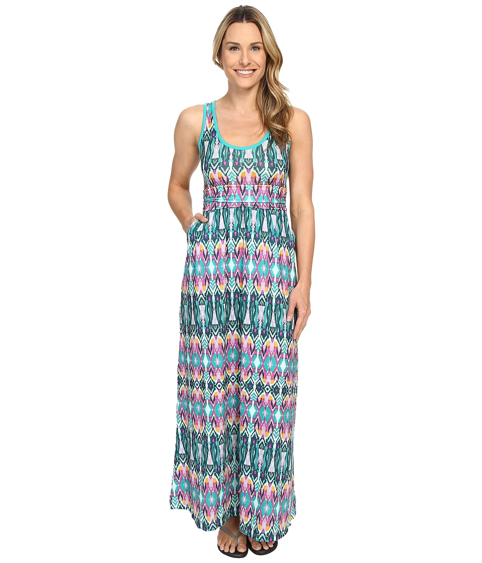 Mountain Hardwear - DrySpun Perfect Solid Maxi (River Rock Green) Women's Dress