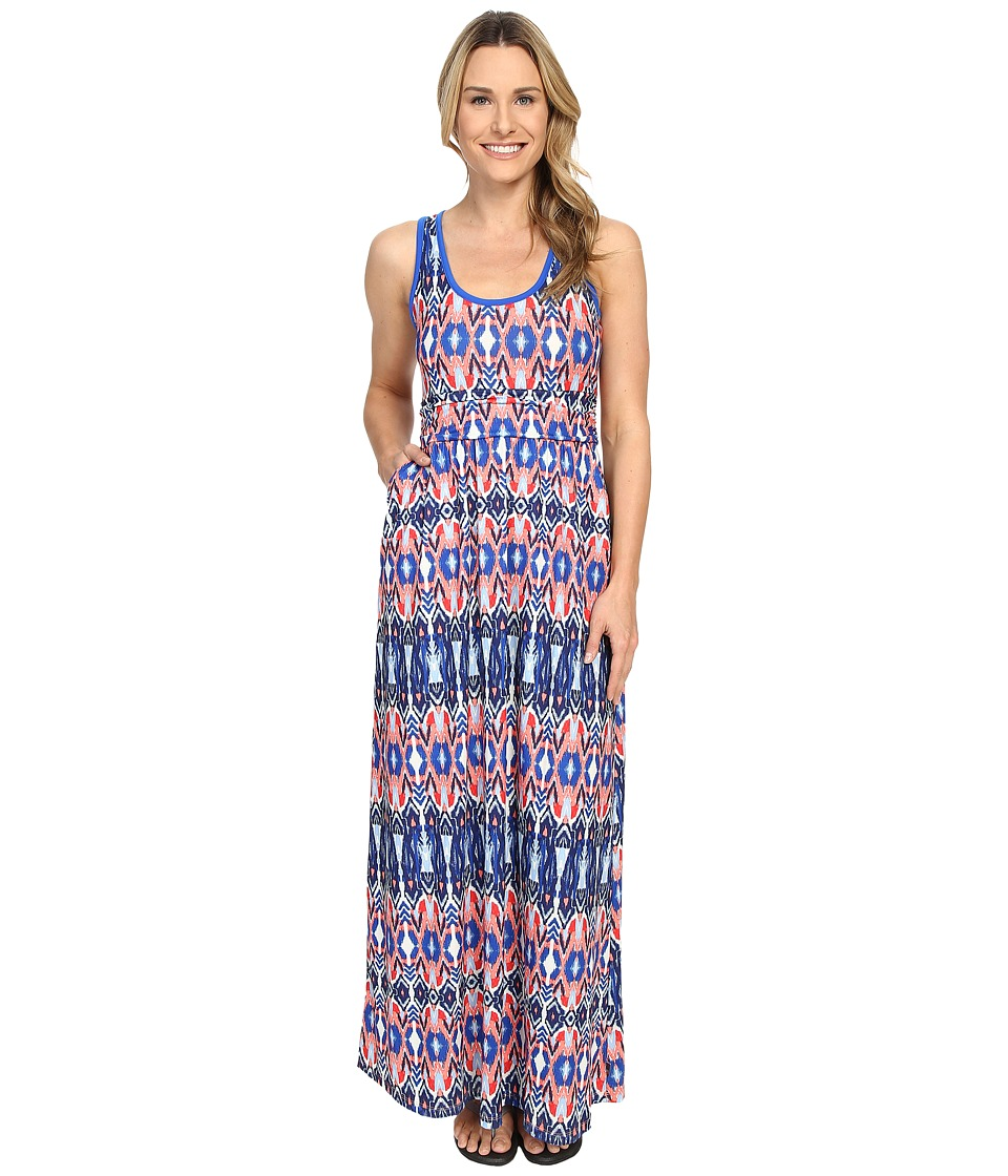 Mountain Hardwear - DrySpun Perfect Solid Maxi (Bright Island Blue1) Women's Dress
