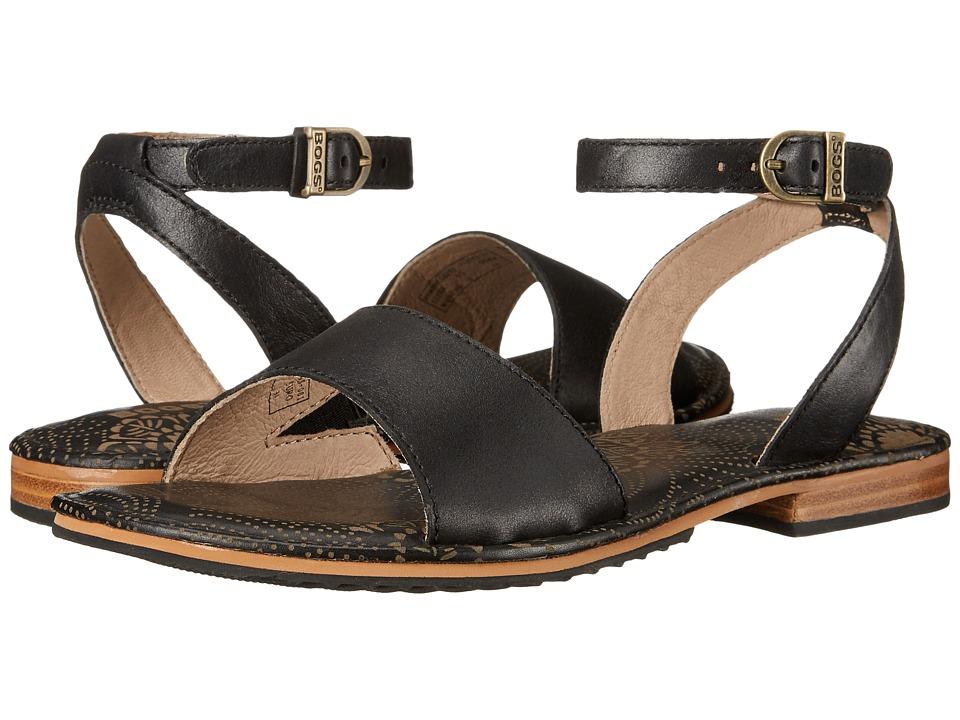 Bogs - Memphis Strap Sandal (Black) Women's Sandals