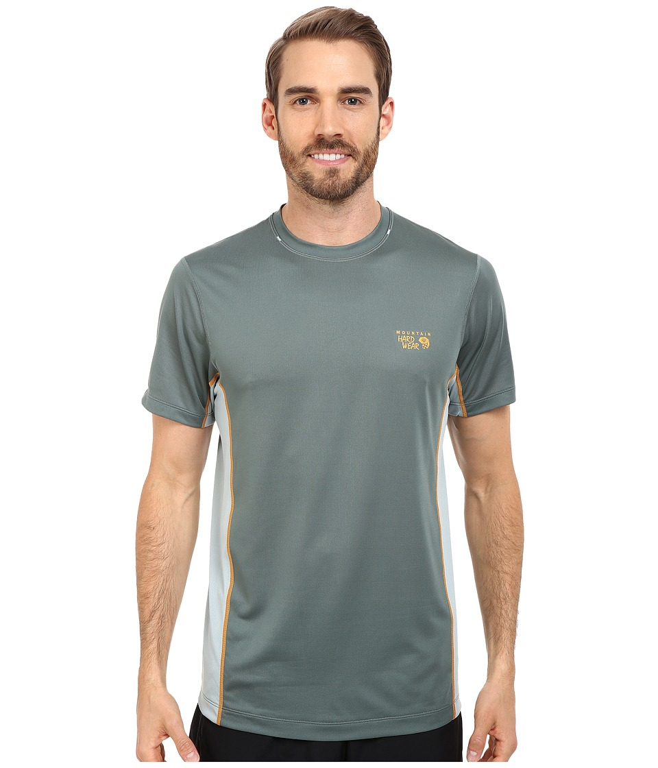Mountain Hardwear - Wicked Lite S/S Tee (Thunderhead Grey) Men's Short Sleeve Pullover