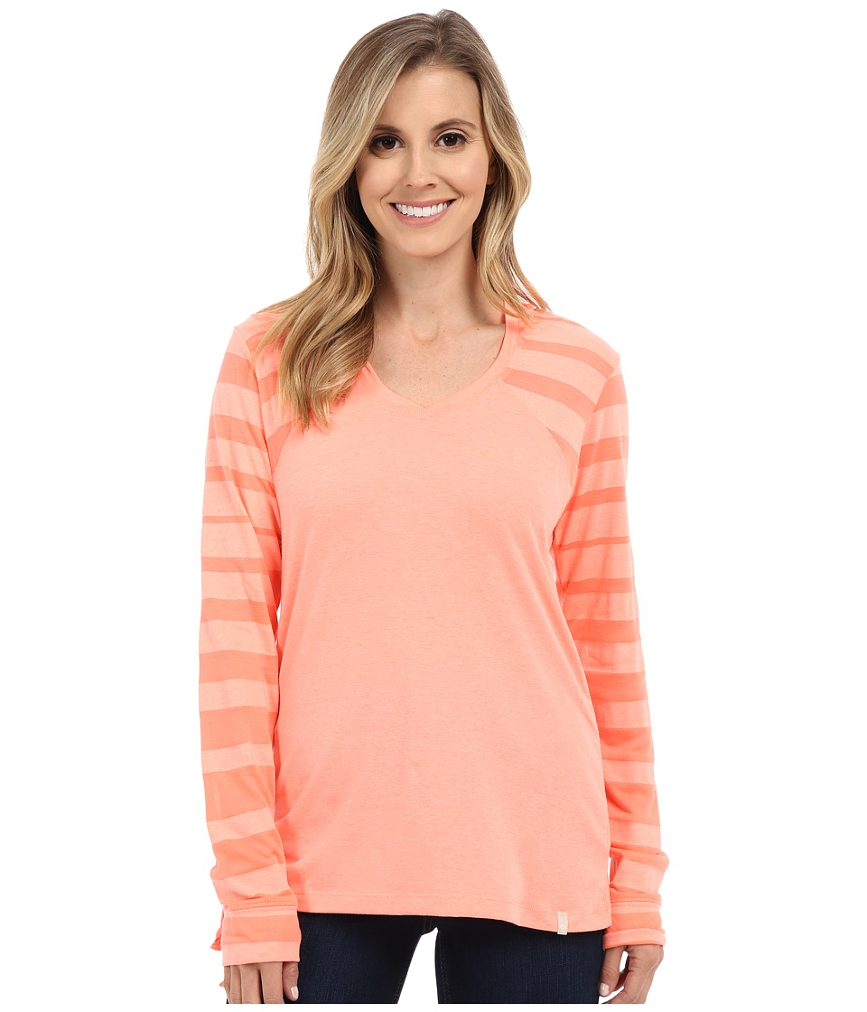 Mountain Hardwear - DrySpun Perfect Hoodie (Coralescent) Women's Sweatshirt