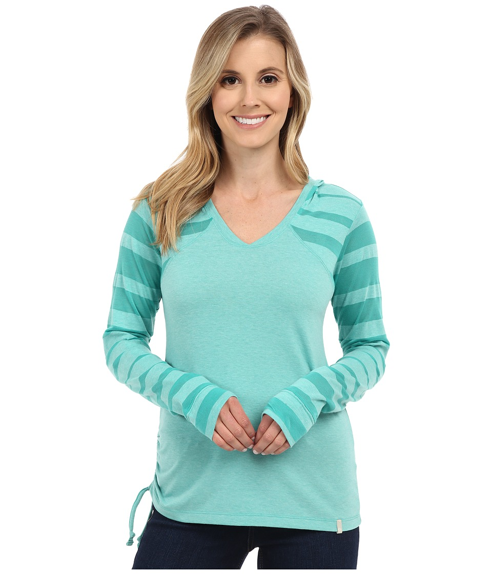 Mountain Hardwear - DrySpun Perfect Hoodie (Glacier Green) Women's Sweatshirt