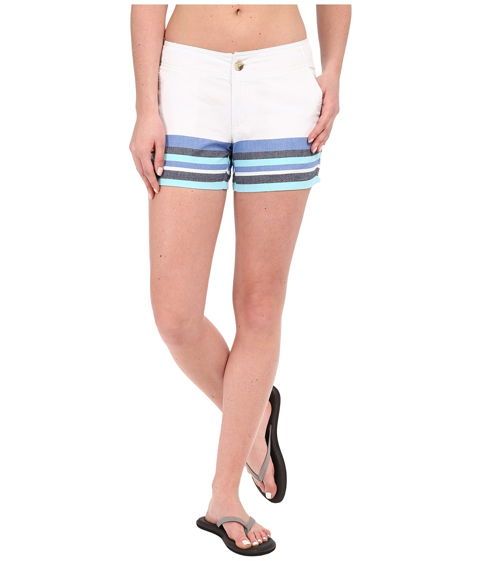 Columbia - Solar Fade Short (Coastal Blue Stripe) Women's Shorts
