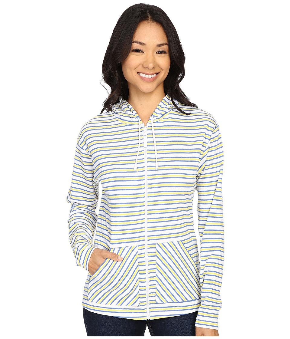 Columbia - Ocean Tides Hoodie (Stormy Blue Stripe) Women's Sweatshirt