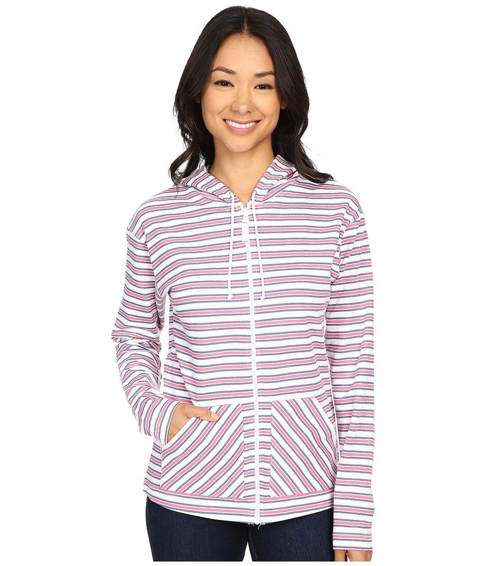 Columbia - Ocean Tides Hoodie (Bluebell Stripe) Women's Sweatshirt