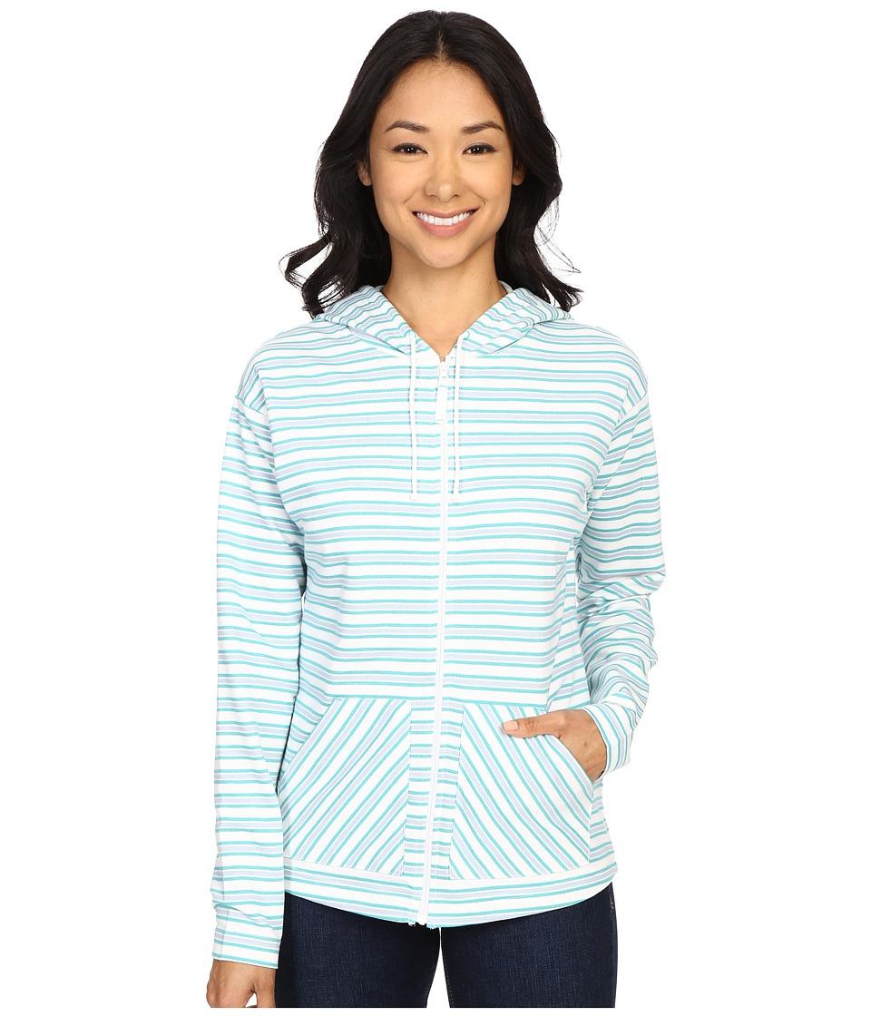 Columbia - Ocean Tides Hoodie (Miami Stripe) Women's Sweatshirt