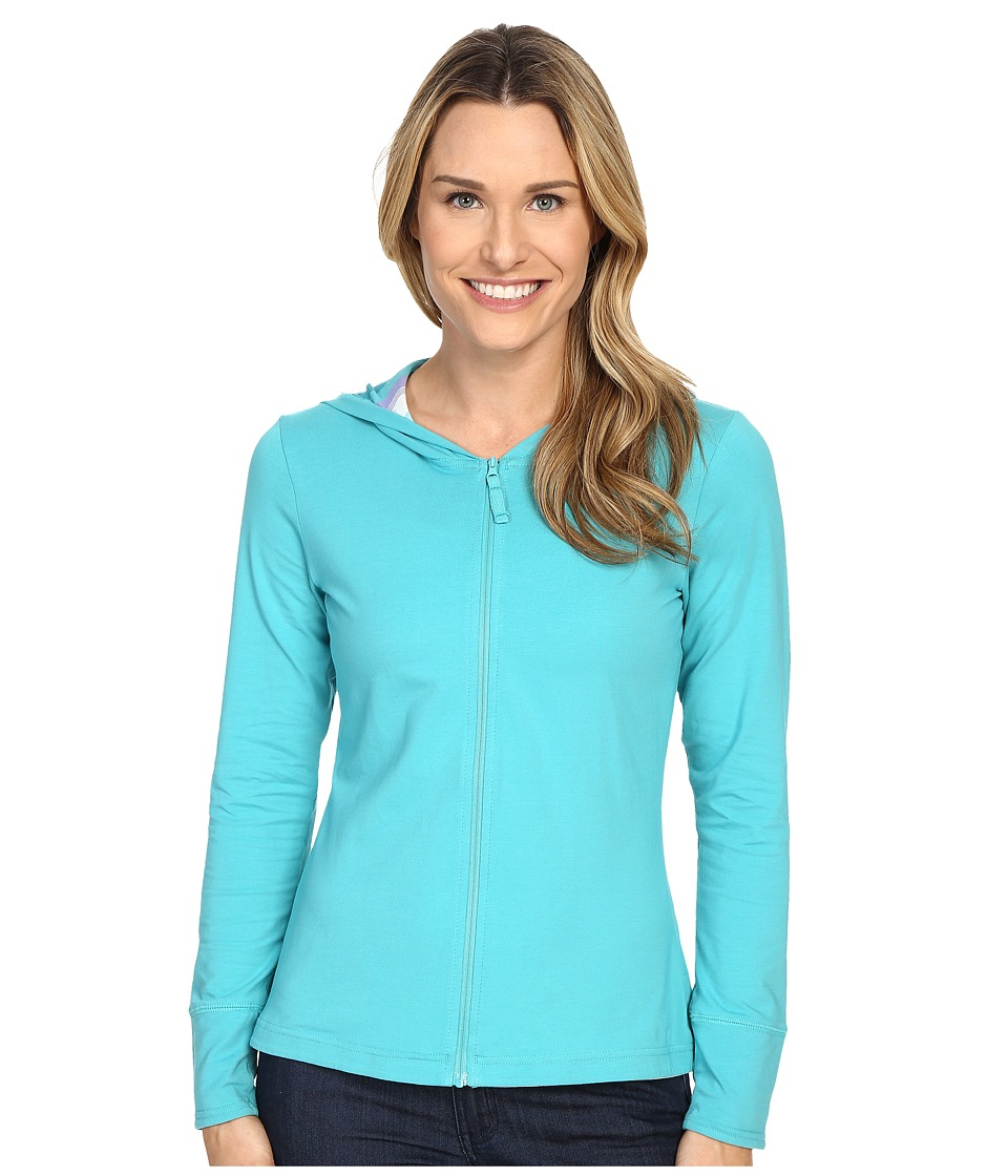 Columbia - Reel Beauty Hoodie (Miami/Multi Stripe) Women's Sweatshirt