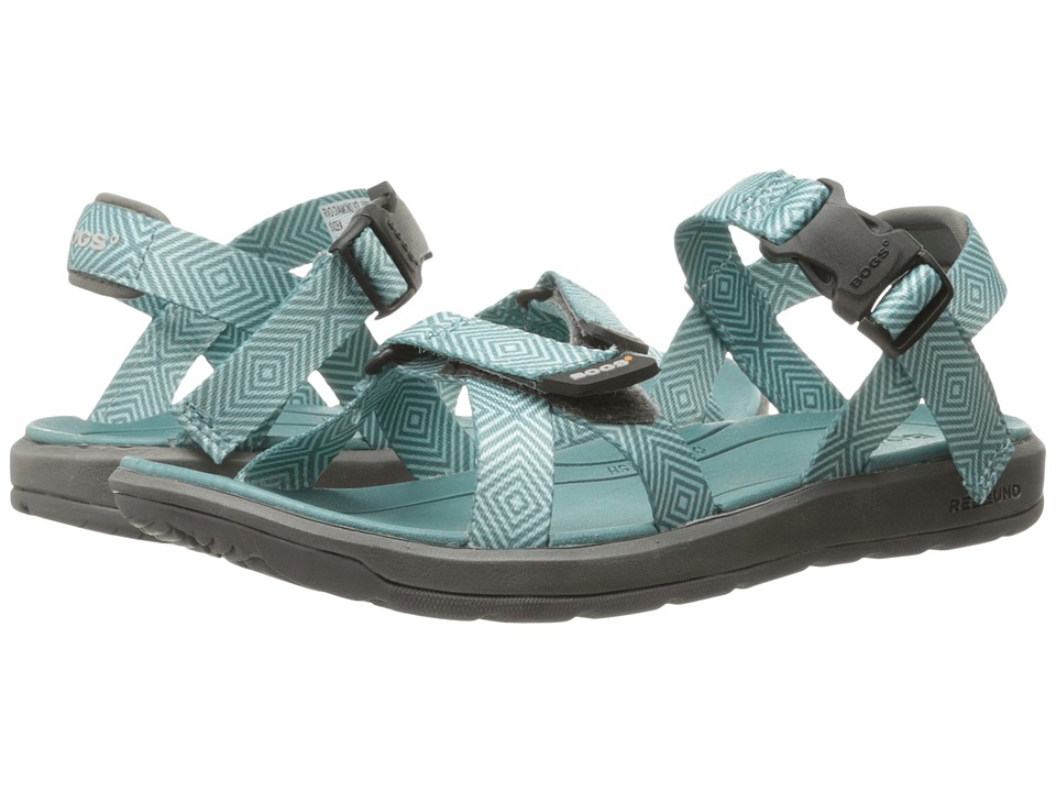 Bogs Rio Diamond Sandal (Turquoise Multi) Women