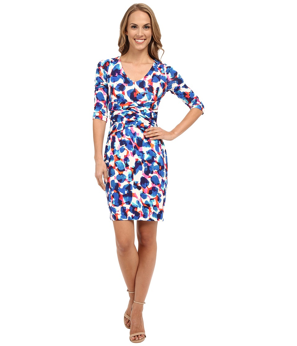 NYDJ - Jolene Rayon Jersey Dress (Stellar Stun Print) Women's Dress