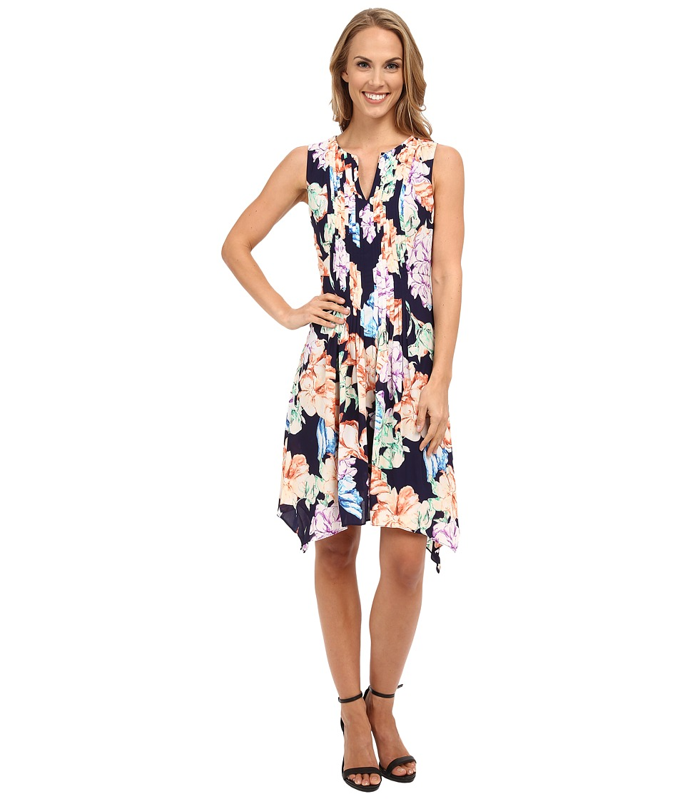 NYDJ - Flora Printed Dress (Harlequin Floral Print) Women