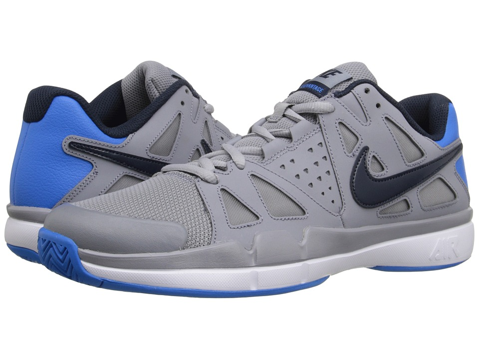 Nike - Air Vapor Advantage (Stealth/White/Photo Blue/Obsidian) Men's Tennis Shoes