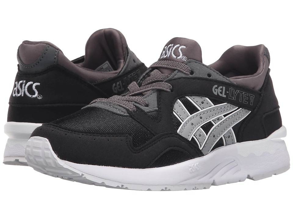 Onitsuka Tiger Kids by Asics - Gel-Lyte V PS (Little Kid) (Black/Medium Grey) Boy's Shoes