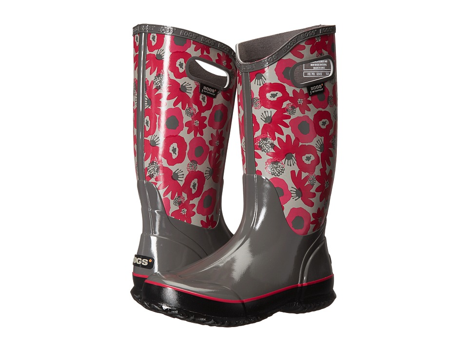 Bogs Watercolor Rain Boot (Gray Multi) Women