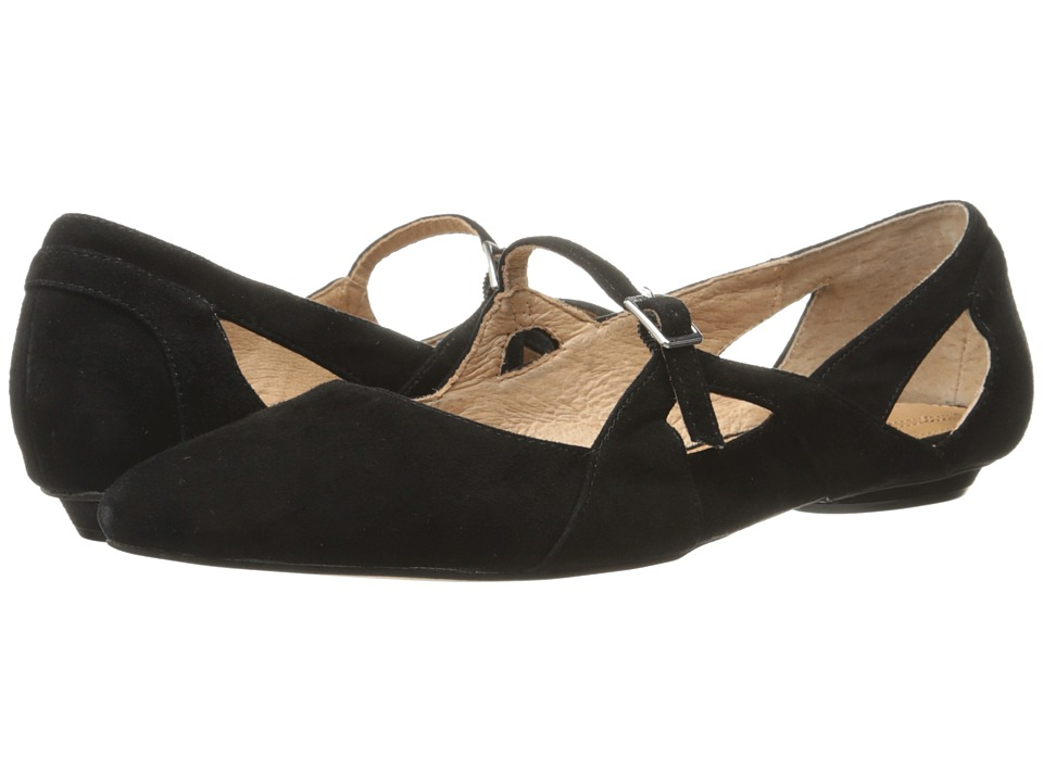 Corso Como - Mystic (Black Kid Suede) Women's Flat Shoes