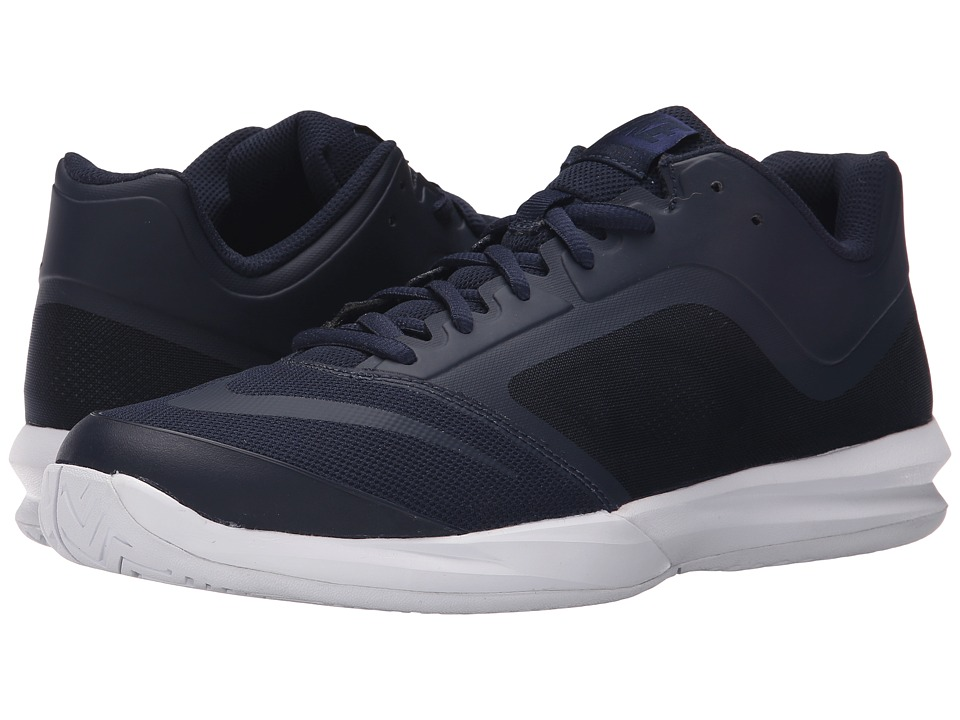 Nike - DF Ballistec Advantage (Obsidian/White/Loyal Blue/Obsidian) Men's Tennis Shoes