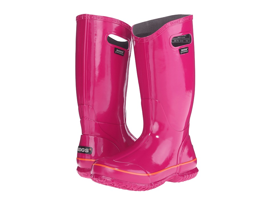 Bogs - Classic Glosh Rainboot (Berry) Women's Rain Boots